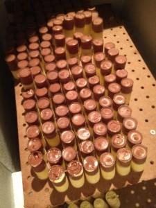 Marigold Kitchen's Push-Pops (White/Dark Chocolate & Peach Foie Gras)