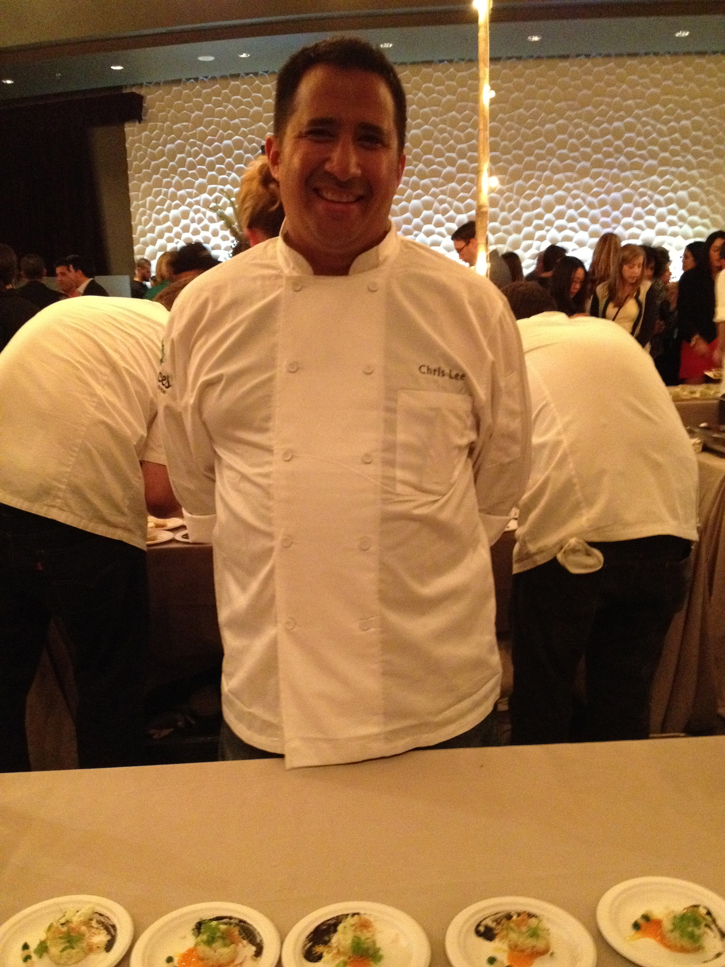 41 North & Christie's executive chef Christopher Lee