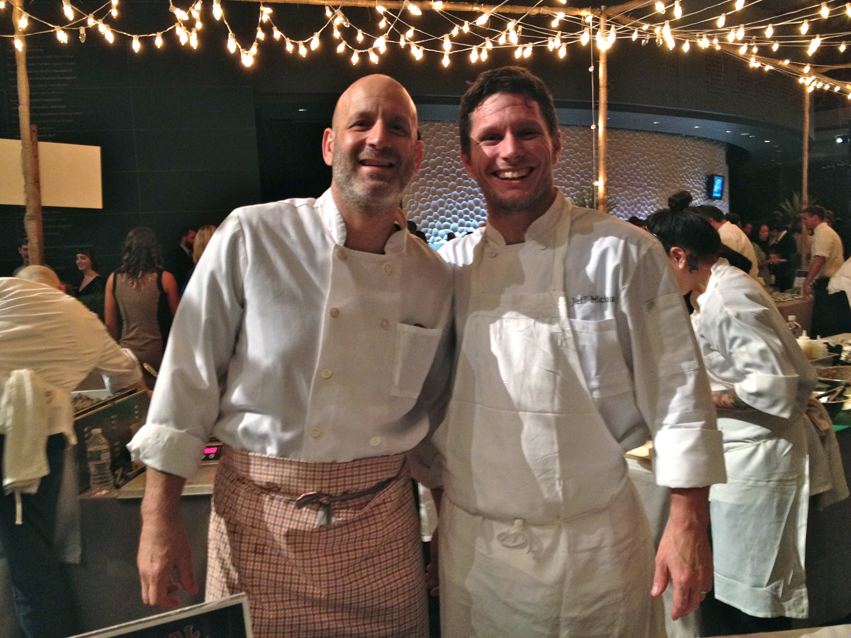 Vetri Family: head chef/owner Marc Vetri & executive chef/partner Jeff Michaud