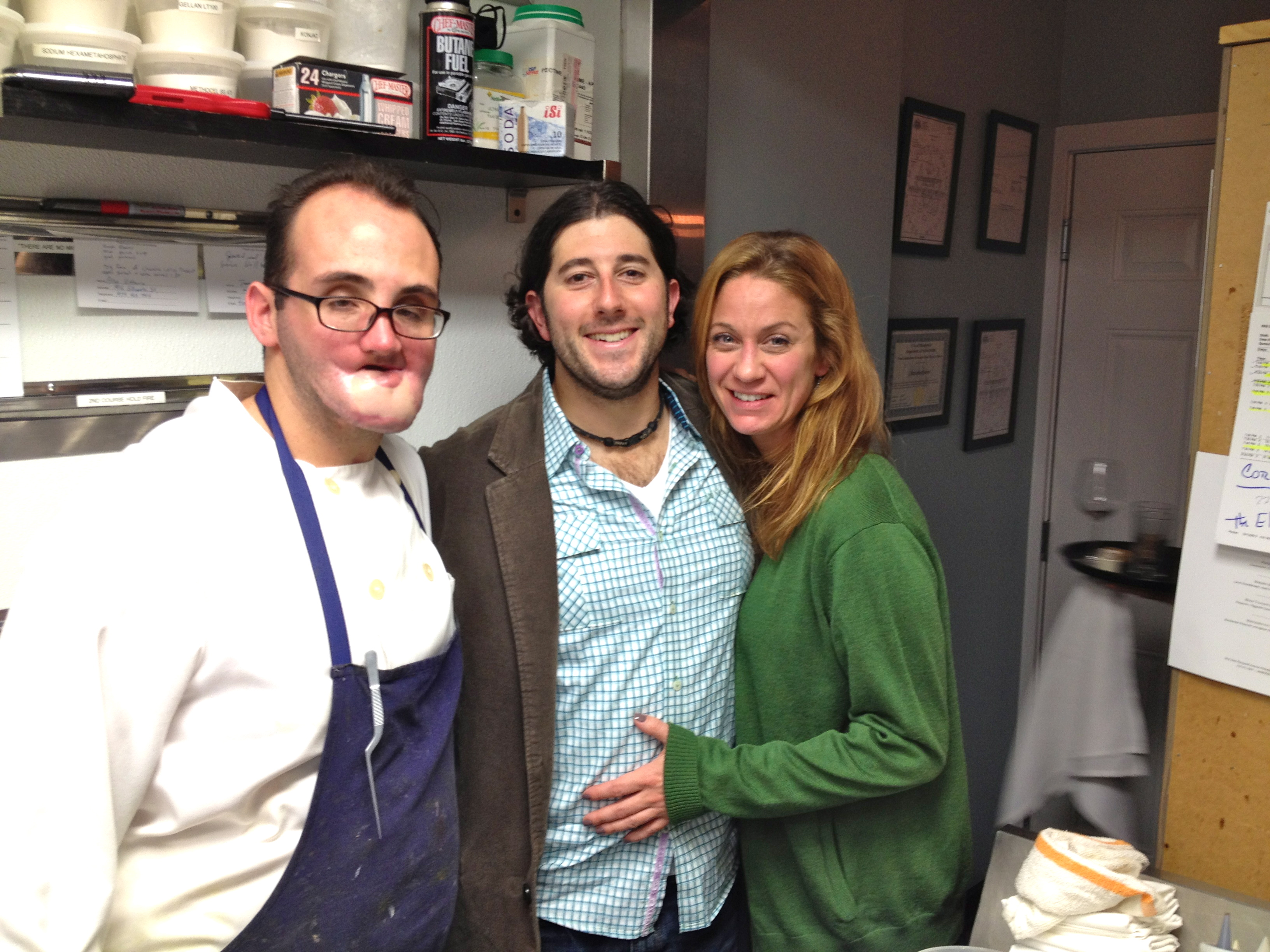 Will BYOB Owner/Chef Christopher Kearse, CCM's Lee Porter & Suzanne Allaire (Will BYOB's Kitchen)
