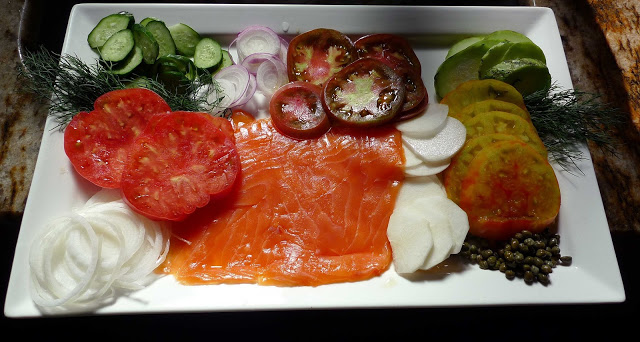 Gil's Summer Salmon Plate