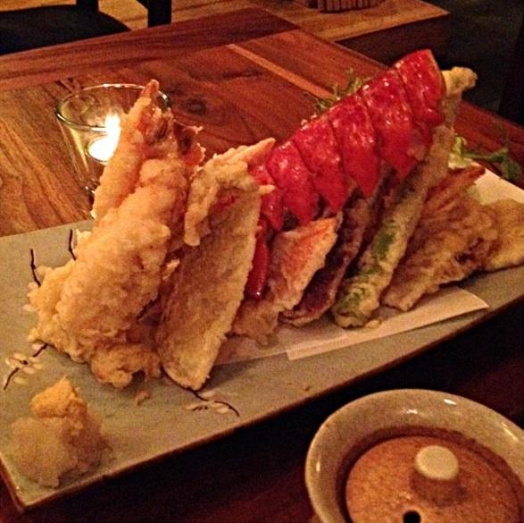 Yanako's Lobster Tempura