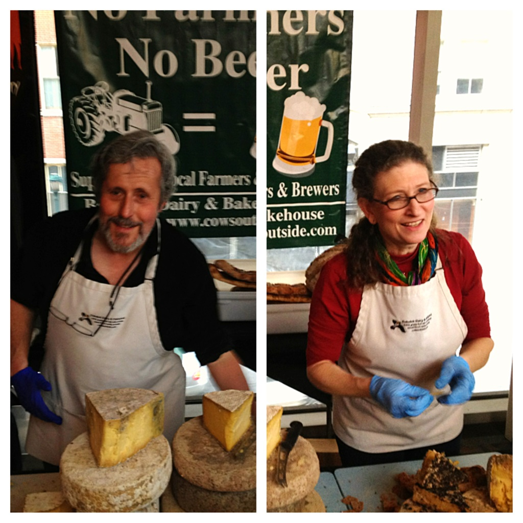 Bobolink Dairy & Bakehouse's Jonathan & Nina White (Brewer's Plate 2014) (photo by Lee Porter)