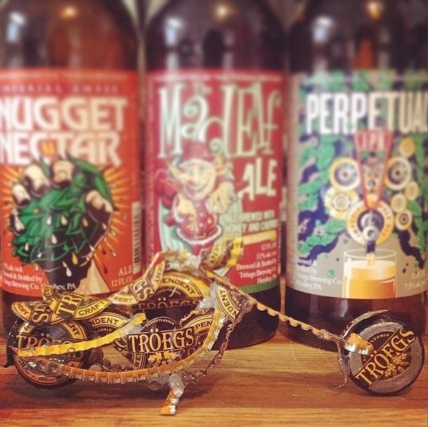 Beer Cap Chopper (Troegs) by Nate Custer
