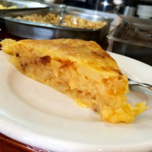 """Madrid's best potato omelette -- at a 'secret' location"" (photo courtesy of James Blick)"