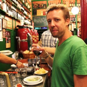Spanish food writer & culinary guide James Blick (photo courtesy of James Blick)