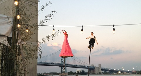 FringeArts performers at FEASTIVAL (photo by Lee Porter)