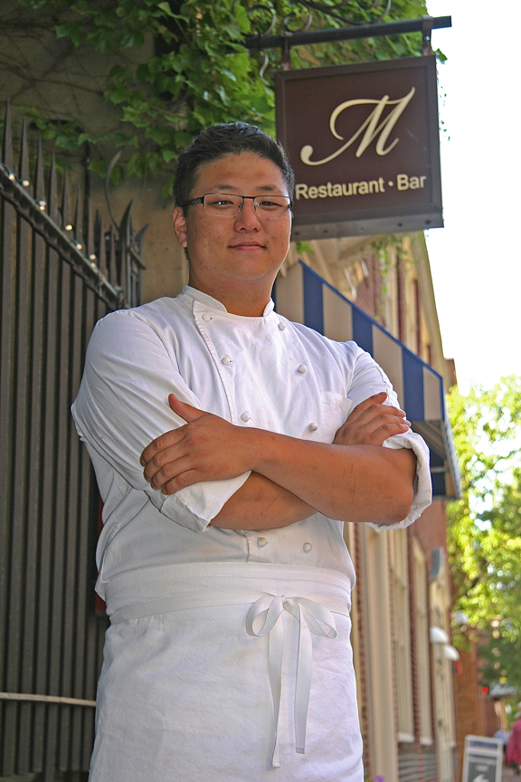 M Restaurant's executive chef Kyle Beebe