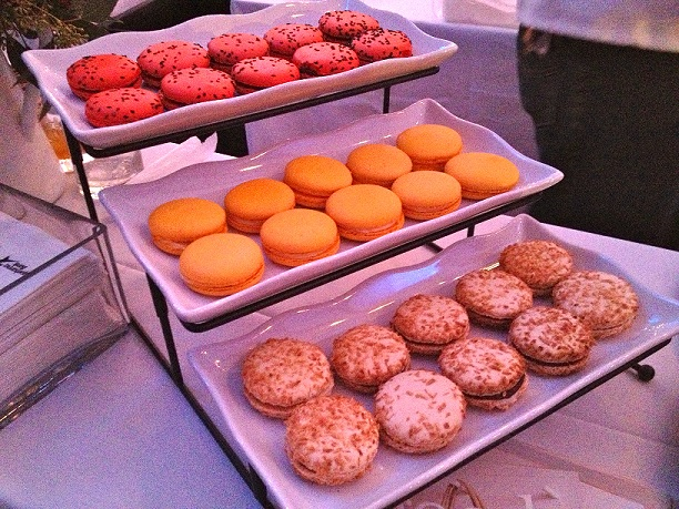 Metropolitan Cafe's French macarons (photo by Lee Porter)