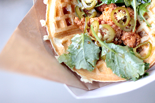 Chicken & Waffles (photo courtesy of Foolish Waffles)