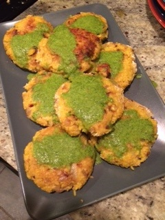 Flo's Veggie Paddies (photo by Flo Gardner)