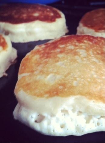 Robin's Buttermilk Pancakes (photo courtesy of Robin Admana)