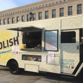 Foolish Waffles Truck at the Porch at 30th Street Station (photo courtesy of Foolish Waffles)