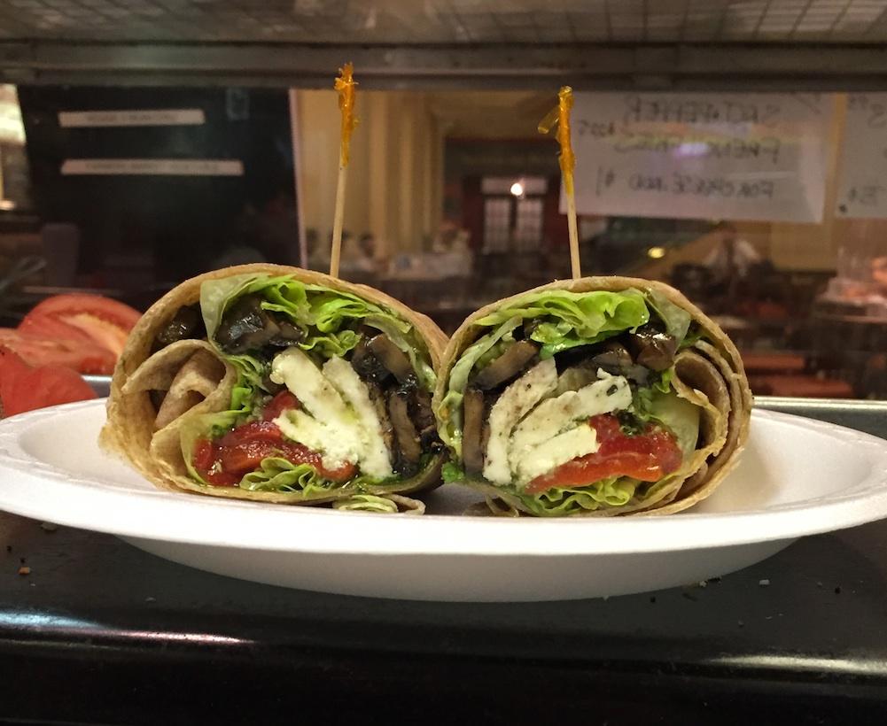 Italian Veggie Wrap