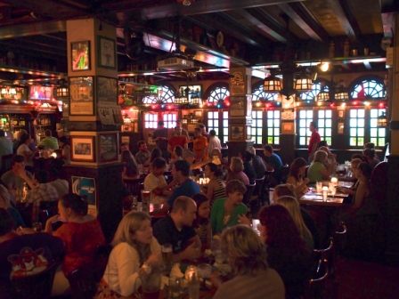 Inside at McGillins (photo by Thomas Robert Clarke Photography)