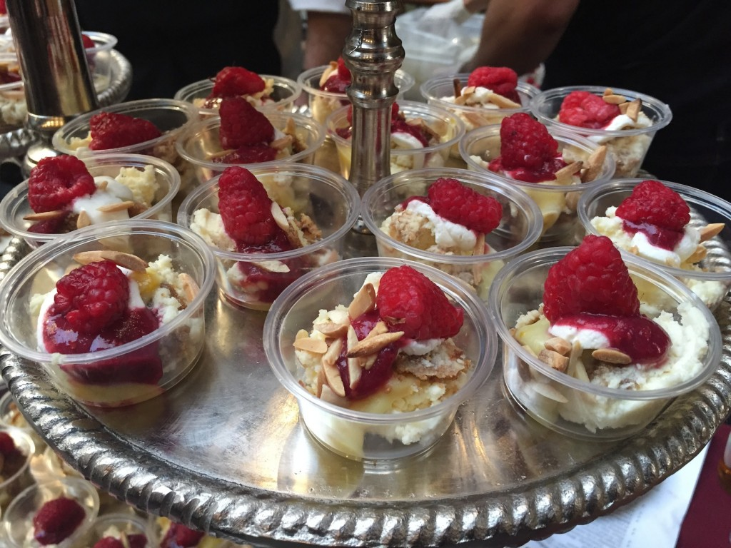 Varga Bar's Meyer Lemon Cheesecake Trifle (photo by Lee Porter)