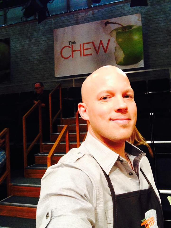 Chef Ryan selfie at the studio (photo courtesy of Centered Chef)