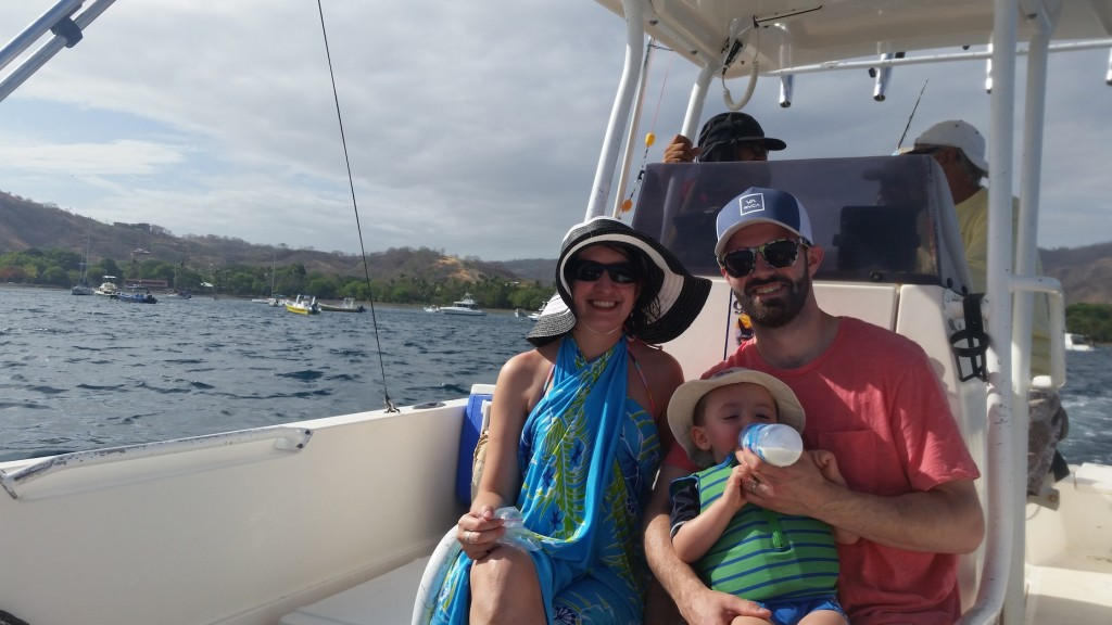 Chef Chad Vetter & Family in Costa Rica (photo courtesy of Chad Vetter)