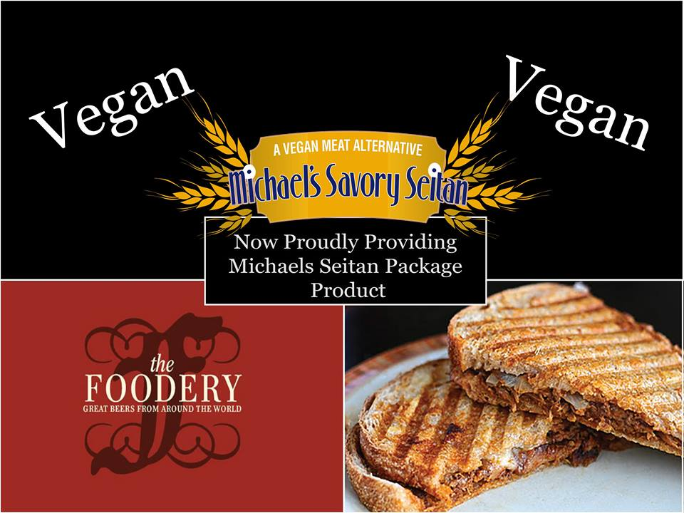 Michael's Savory Seitan available at The Foodery in Northern Liberties (photo courtesy of Michael's Savory Seitan)