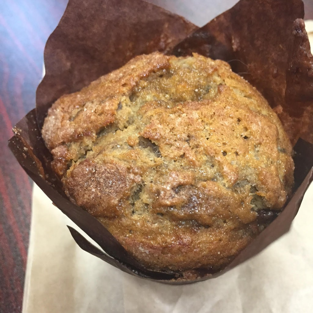 Metropolitan Bakery's Brown Sugar Red Plum muffin (photo by Lee Porter)