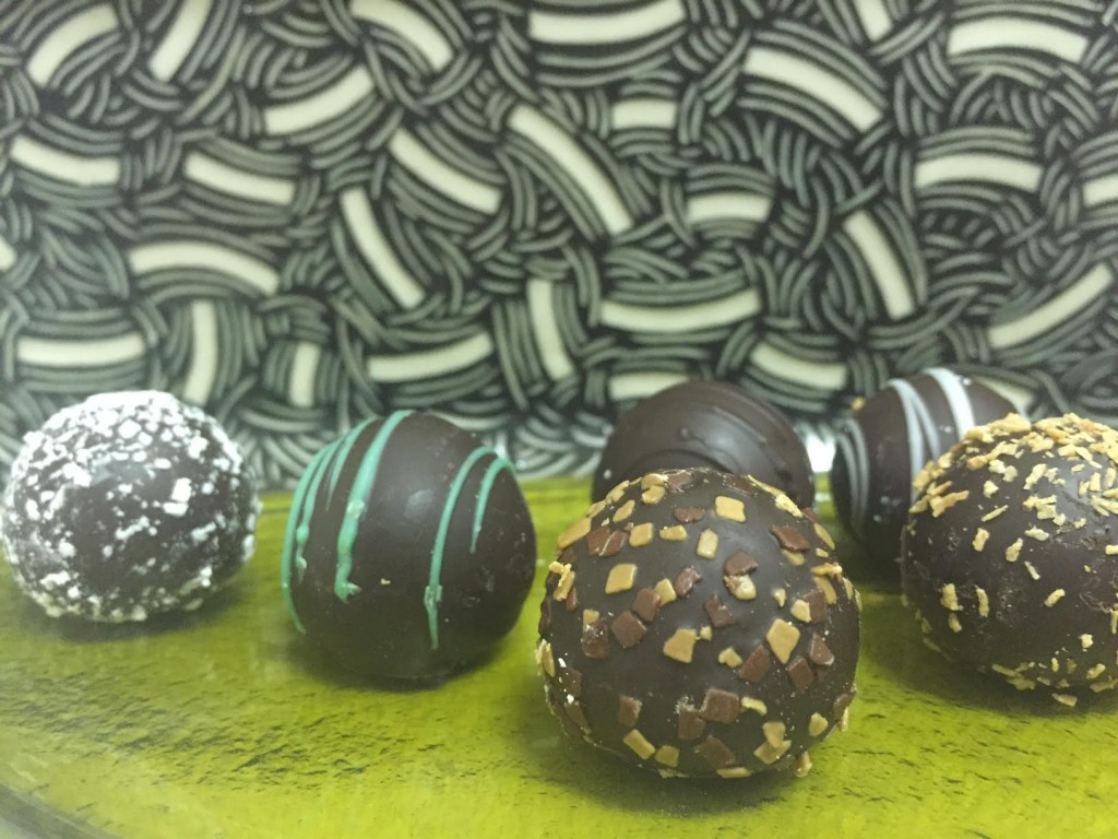 Mueller Chocolate Co.'s Truffles (photo by Lee Porter)