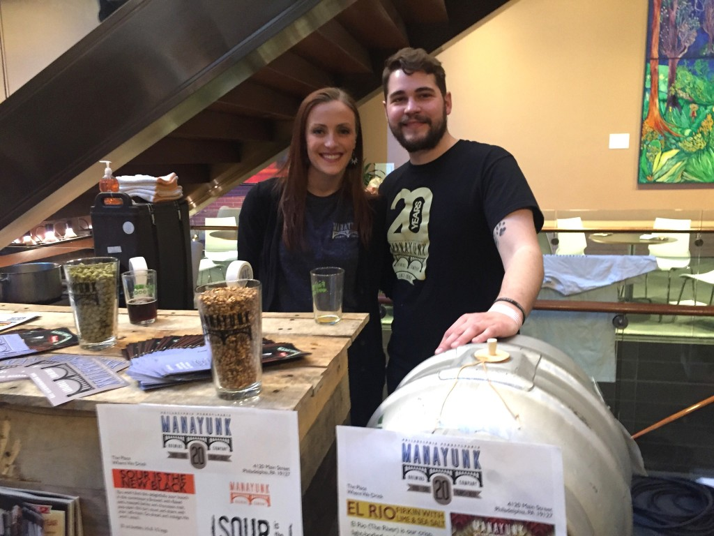 Team Manayunk Brewing at The Brewer's Plate 2017 (photo by Lee Porter)