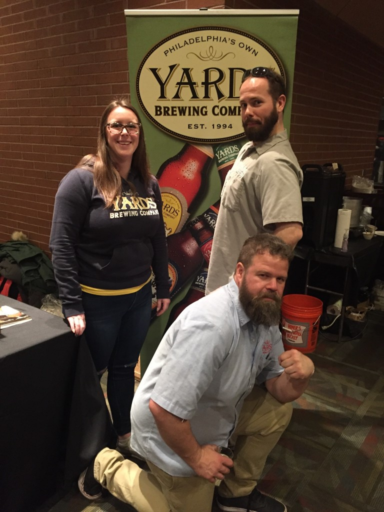 Team Yards Brewing at The Brewer's Plate 2017 (photo by Lee Porter)