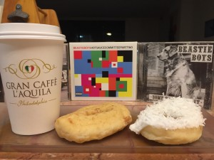 Gran Caffe L'Aquila coffee & Beiler's Donuts (photo by Lee Porter)