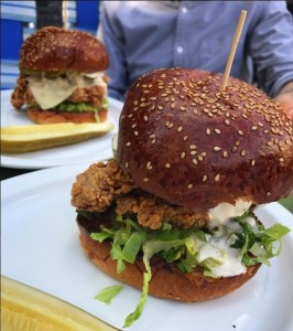 Fried Chicken Sandwich at American Sardine Bar (photo by Rachael Horton)