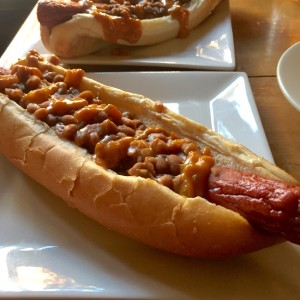Pork & Beans Footlong at American Sardine Bar for our 2017 BBoys Event (photo by Lee Porter)