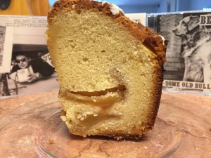 Jewish Apple Cake from Schlesinger's Deli (photo by Lee Porter0
